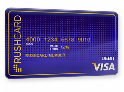 Purple rushcard